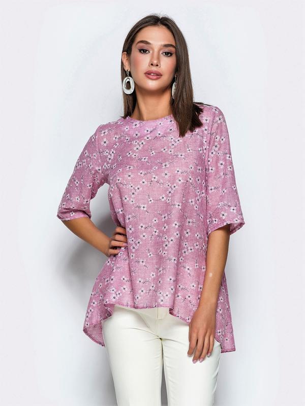 Блуза из мягкого льна