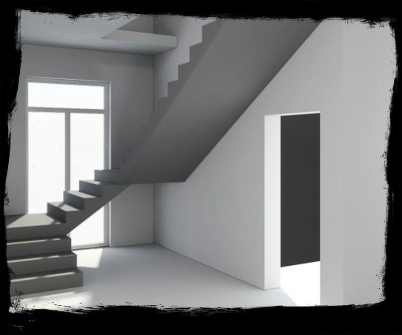 Лестница из Бетона под ключ • Бетонная монолитная лестница • - Фото 7