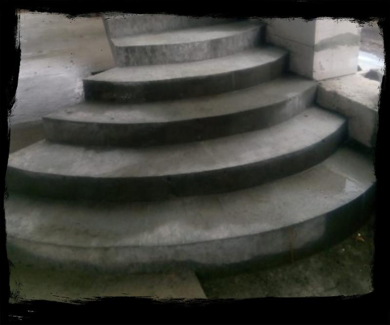 Лестница из Бетона под ключ • Бетонная монолитная лестница • - Фото 3