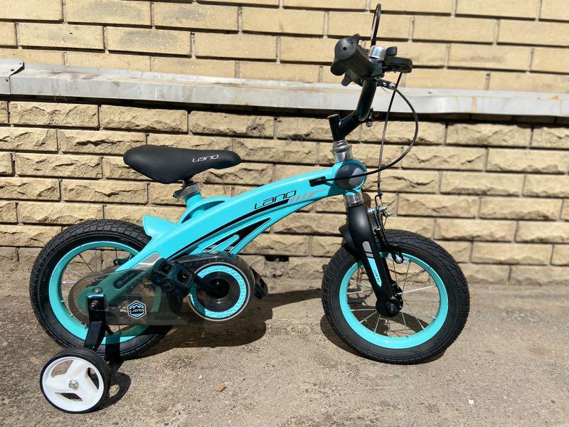 Детский велосипед LANQ 12, 14, 16 дюймов - Фото 2