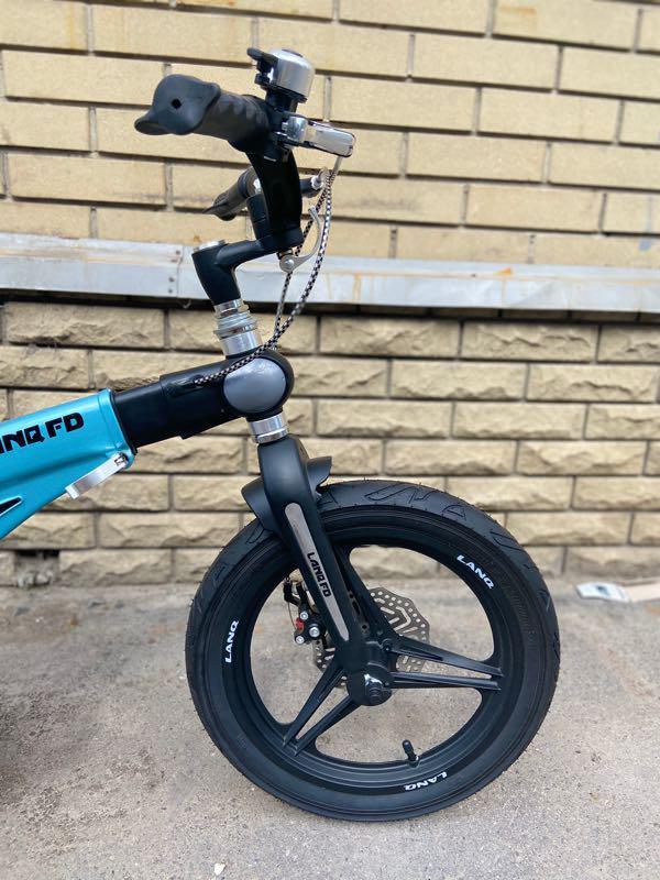 Детский велосипед LANQ 12, 14, 16 дюймов - Фото 7