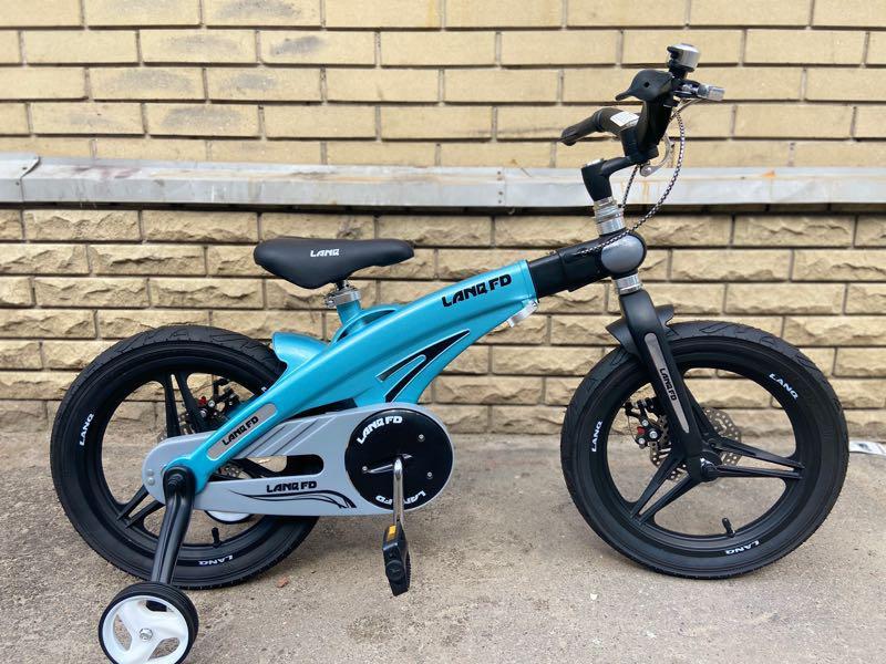Детский велосипед LANQ 12, 14, 16 дюймов - Фото 9