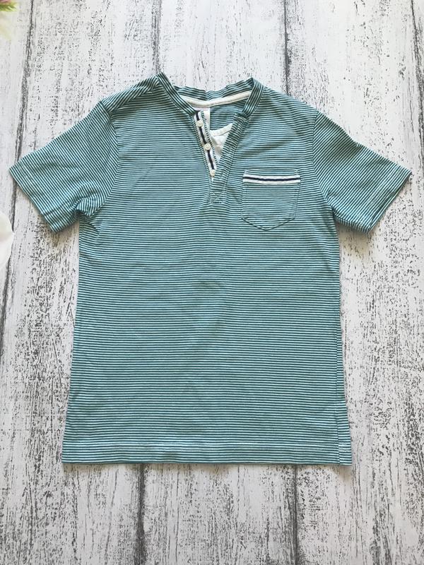 Крутая футболка в полоску gymboree 7лет