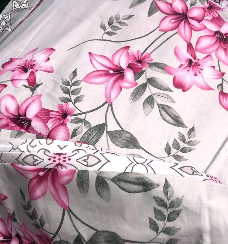 Комплект постельного белья сатин - Фото 4
