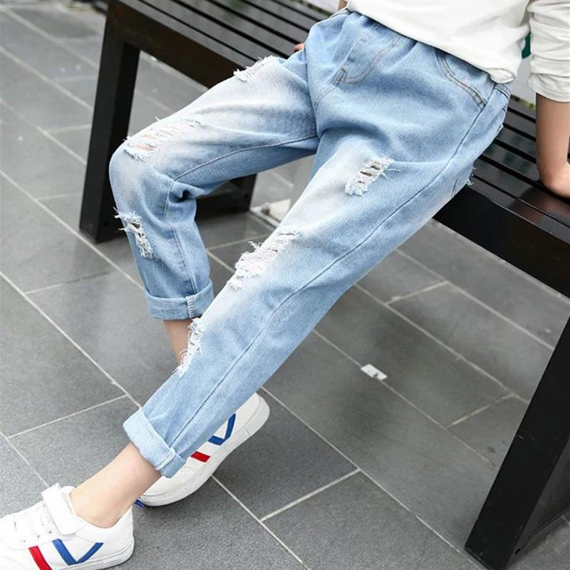Детские джинсы бойфренды, 8-10 лет, новые