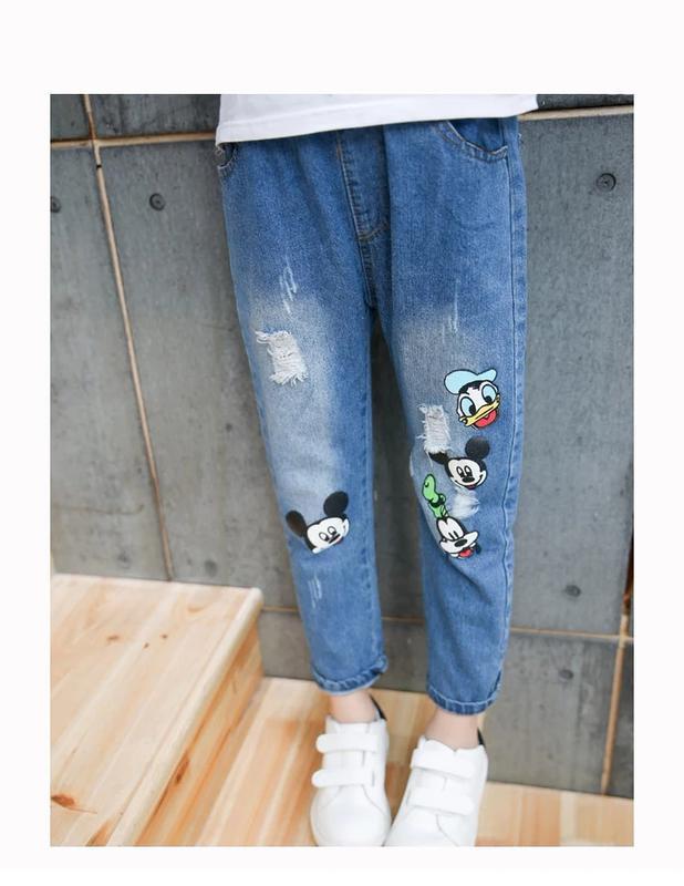 Детские джинсы бойфренды, 6-8 лет, новые