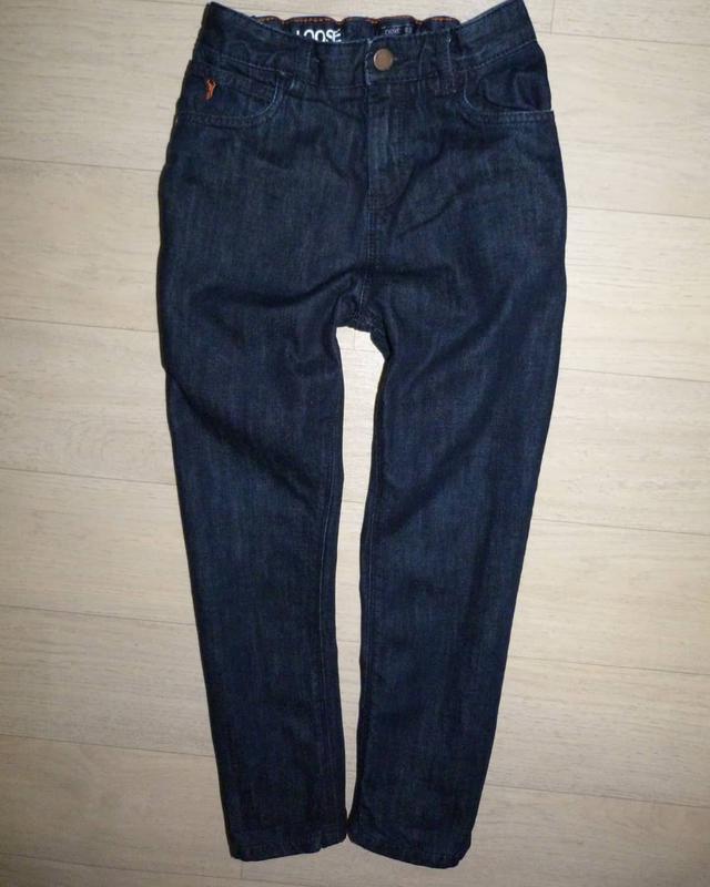 Темно-синие джинсы next 8 лет