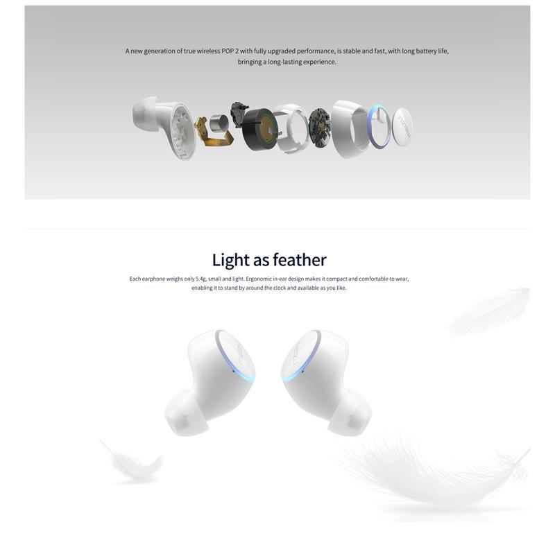 Беспроводные Bluetooth-наушники Meizu Pop 2 Global Version - Фото 4
