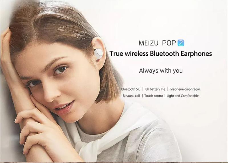 Беспроводные Bluetooth-наушники Meizu Pop 2 Global Version - Фото 5