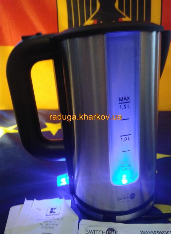Чайник электрический,дисковый Электрочайник SWITCH ON Германия