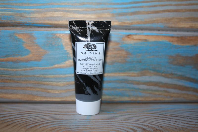Очищающая маска для лица с древесным углем origins, 15 ml.