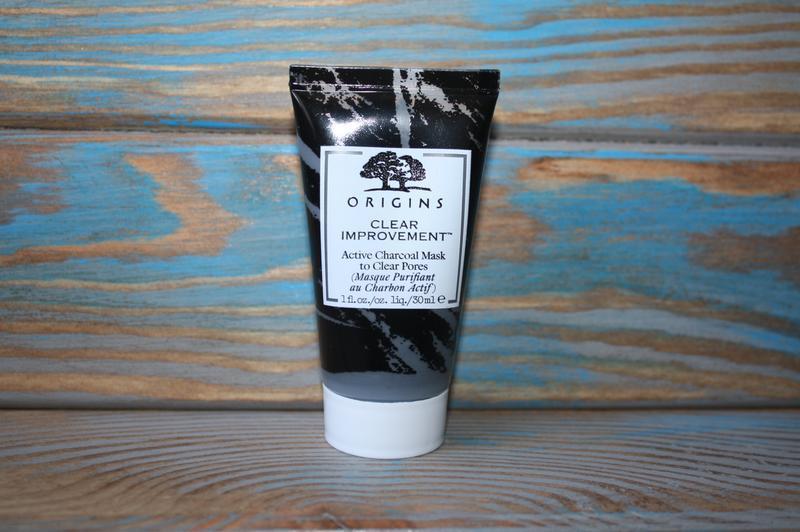 Очищающая маска для лица с древесным углем origins, 30 ml.