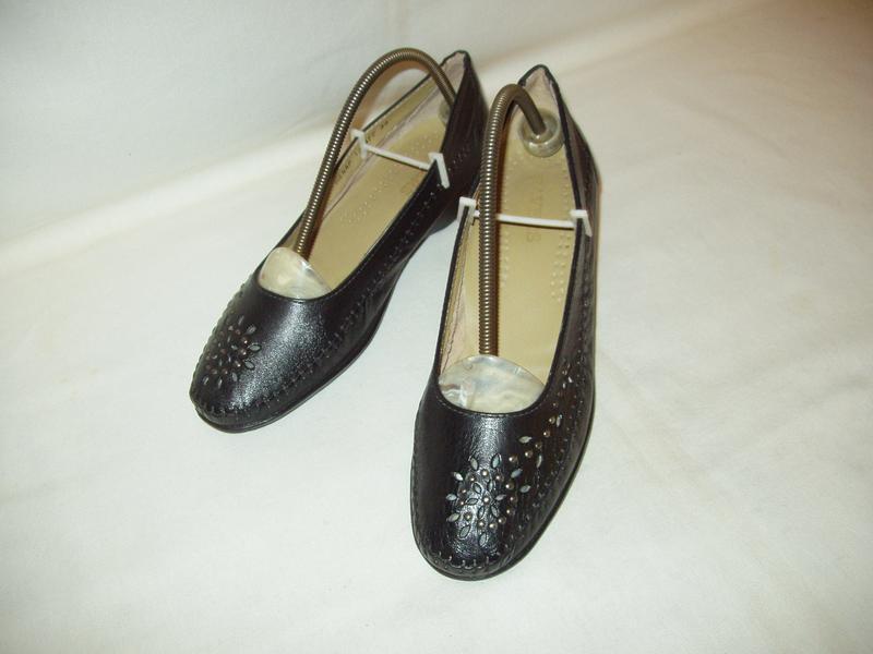 Туфли-мокасины * pavers * england. kожа. р. 39. - Фото 2