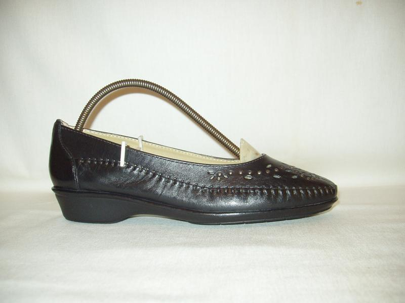 Туфли-мокасины * pavers * england. kожа. р. 39. - Фото 4