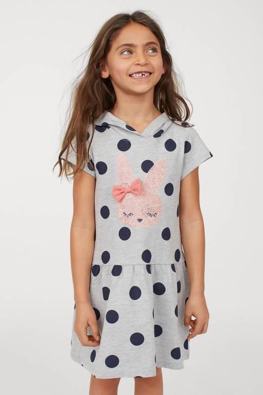 Платье с пайетками h&m