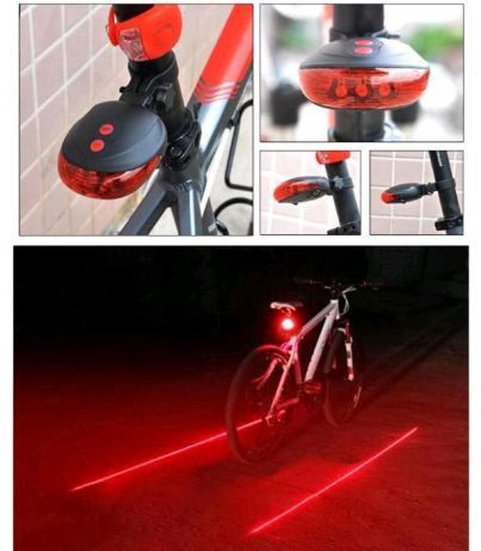 Габарит с лазерами, велофонарь, фонарь для велосипеда