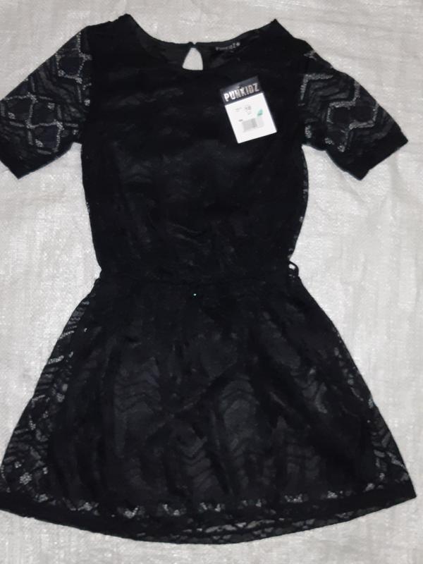 Нарядное французское гипюровое платье бренда punkidz на девочк...