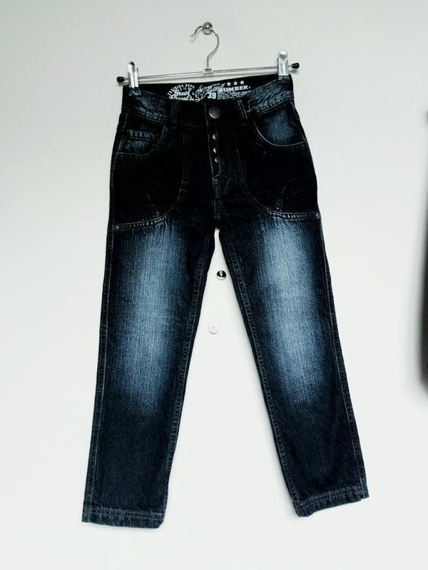 Классные джинсы на мальчика 6 лет