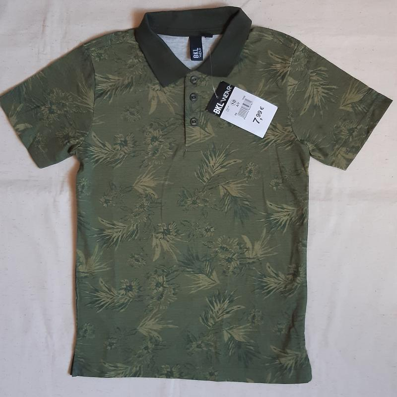 Летняя рубашка поло цвет хаки