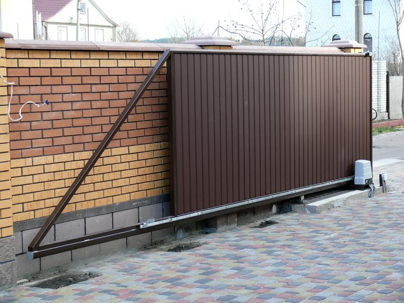 Изготовление автоматических ворот на заказ в Николаеве и области.
