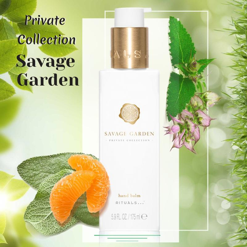Rituals Бальзам для рук. Ritual of Savage Garden hand balm.