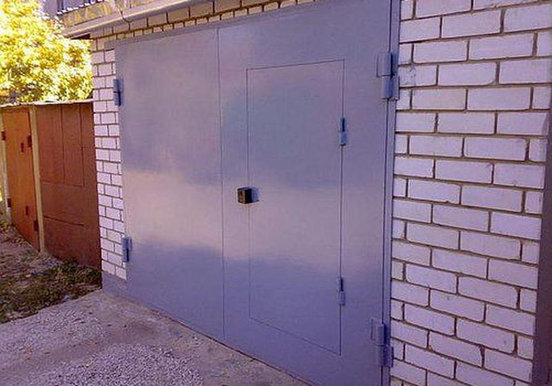 Изготовление гаражных ворот на заказ в Николаеве и области.