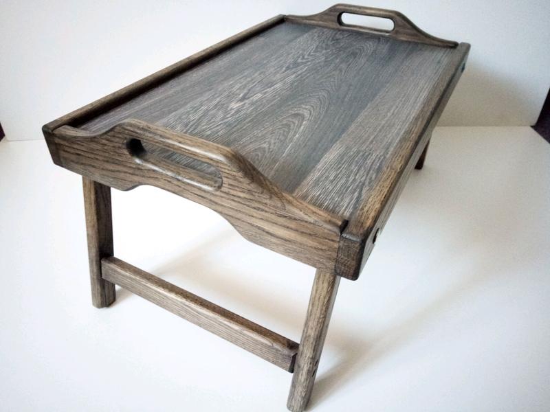 Столик для сніданку/столик для завтрака/раскладной столик - Фото 3