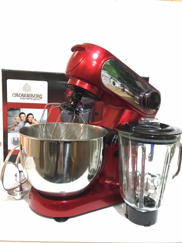 Кухонный комбайн 3в1 Crownberg CB-3404 2200W - Фото 3