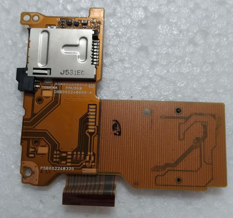 SIM картрідер ноутбука Toshiba Portege R500 R600 A5A002248010