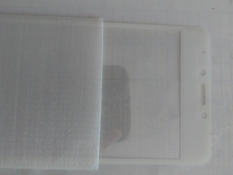 Защитное стекло  Meizu m5c wite