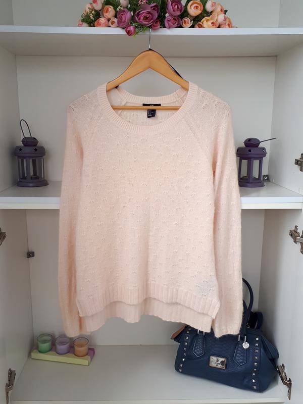 M/46 нежнейший ангоровый свитер h&m 21957