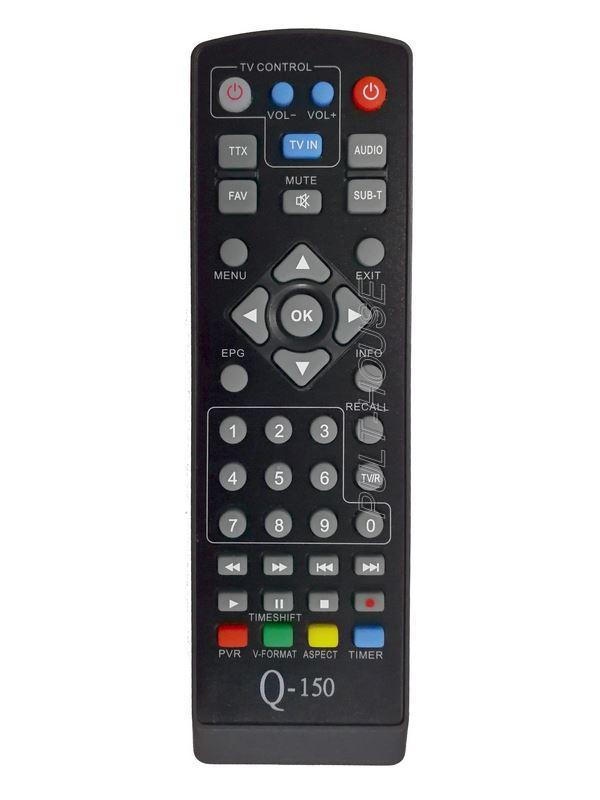 Пульт Star-Q Q-150, Q-149 для эфирных ресиверов DVB-T2