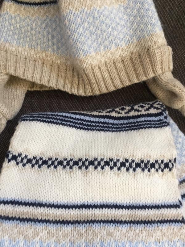 Комплект шапка и шарф 9-12 м 44-46 - Фото 3