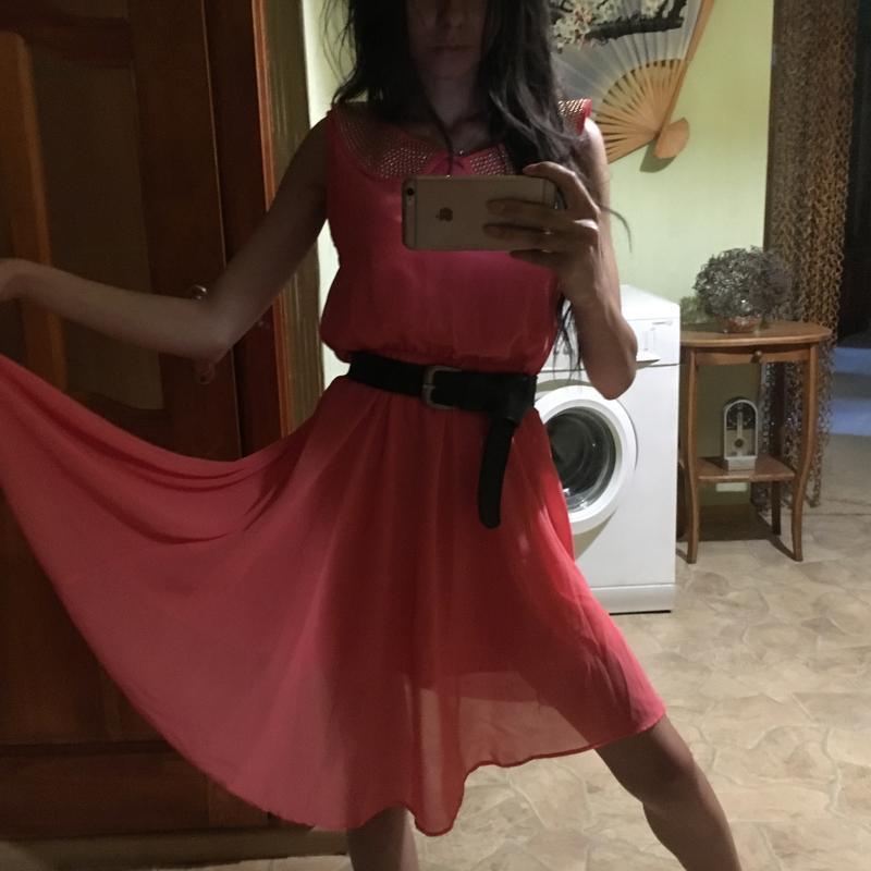 Платье шифоновое/лёгкое