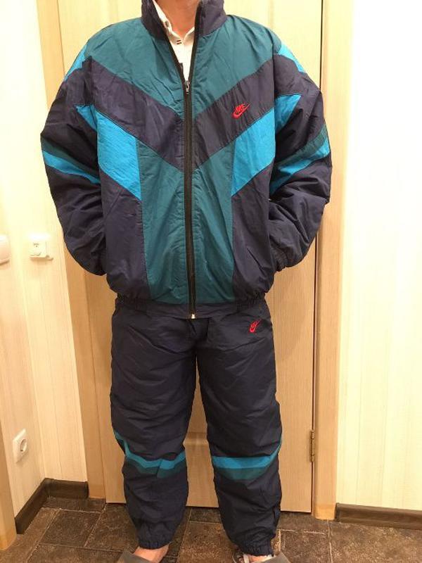 Мужской зимний спортивный костюм Nike