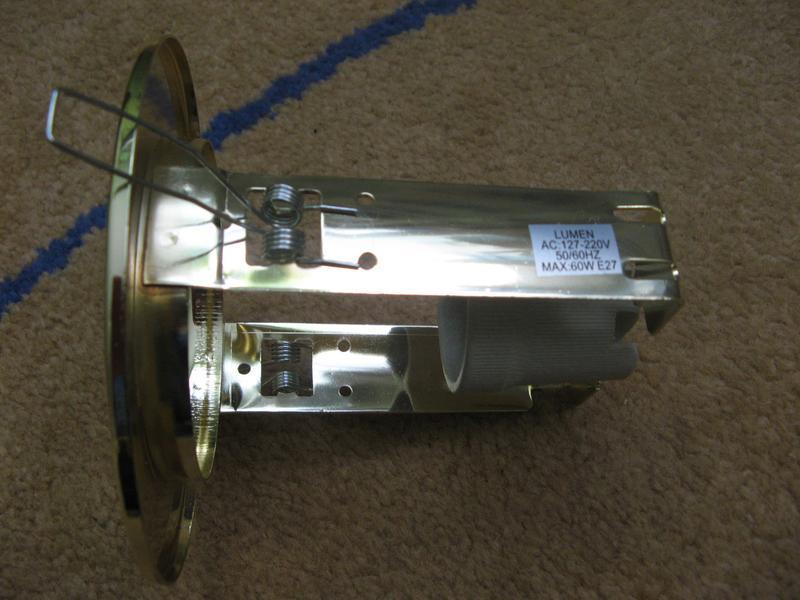 Светильник точечный R80 E27 Золото LUMEN - Фото 2