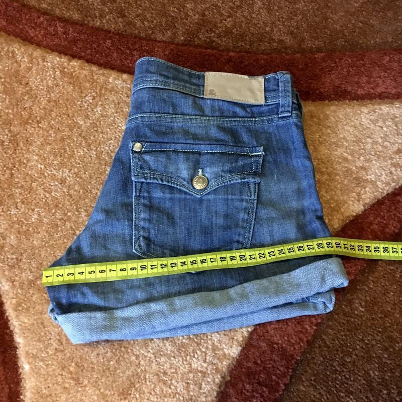 Шорты джинсовые короткие - Фото 4