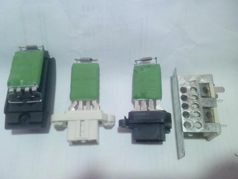 Резистор двигателя отопителя Форд