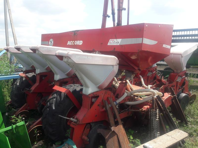 Kverneland Optima HD. Сеялка.