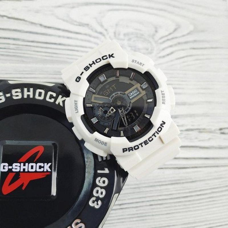 Часы Casio G-Shock White-Black New