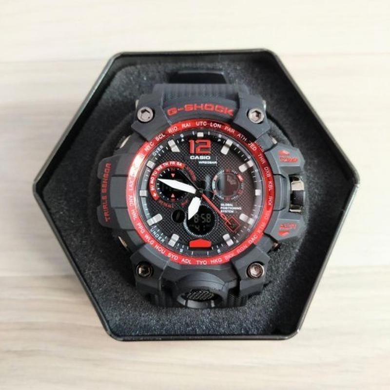 Часы Casio G-Shock MTG-G1000 Black-Red New