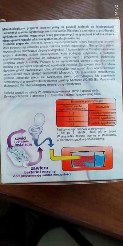 Microbec  средство для чистки септиков, унитазов, труб Польша - Фото 5