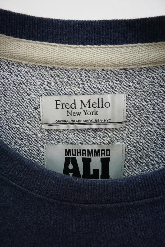 Свитшот fred mello × muhammad ali - Фото 3