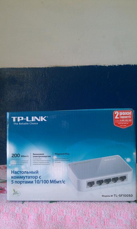 коммутатор TP-Link модель SF1005D