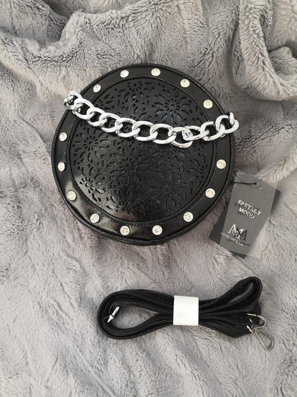 Распродажа! круглая сумочка, сумка, сумка-клатч, сумка боченок