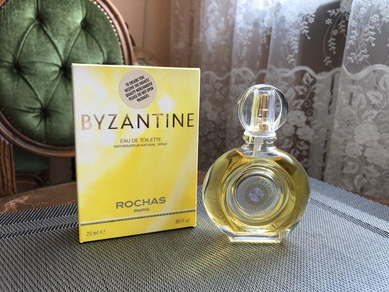 Духи винтажные Rochas Byzantine, ТВ 25 мл