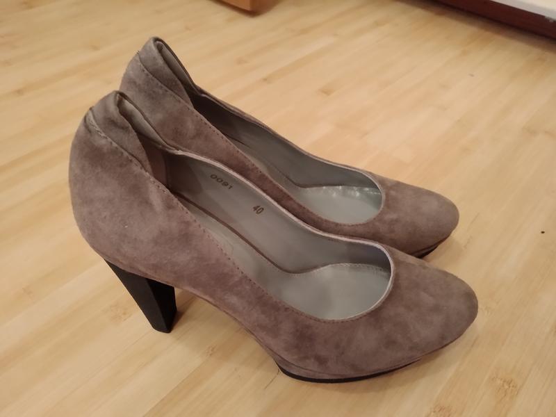 Туфли замшевые - Фото 2