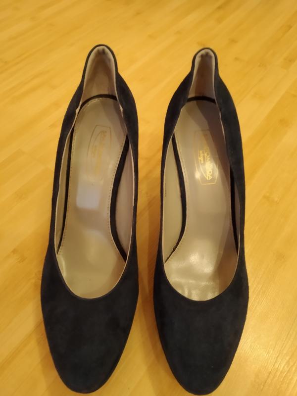 Туфли замшевые - Фото 4