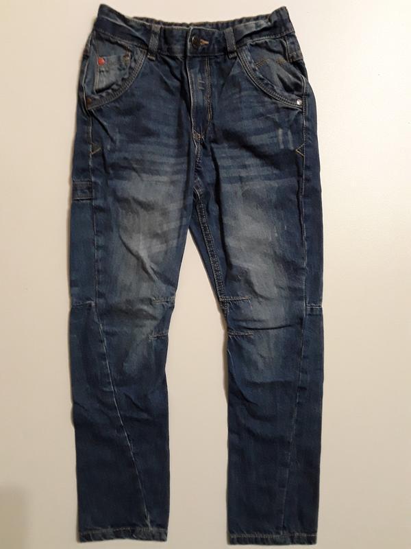 Фирменные джинсы 7-8 лет