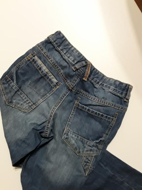 Фирменные джинсы 7-8 лет - Фото 2